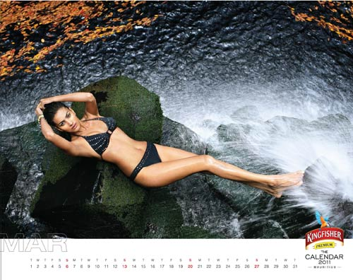 Kingfisher Bikini Calendar   HQ Photos Photoshoot images