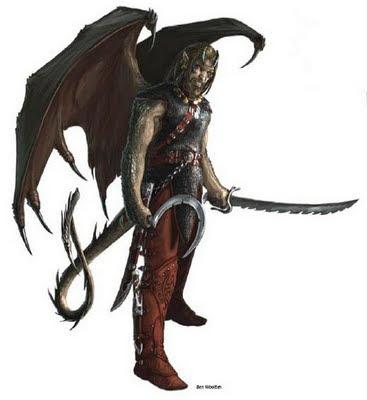 Knight of Hammer: modelos como classes4: A criatura diabólica