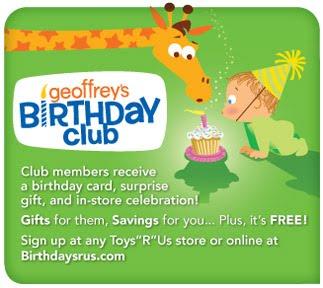 Toys R Us Baby Club