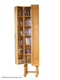 bothfeld massivholzm bel cd schrank aus massiver eiche. Black Bedroom Furniture Sets. Home Design Ideas