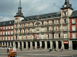 Madrid Sus Viejas Calles Arco Del Triunfo Calle Del