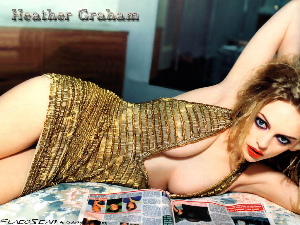 Heather Graham Hot heather graham hot photoshop wallpaper - heather