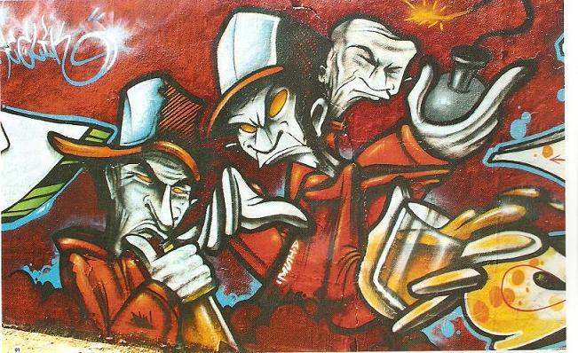 graffitis abril 2010