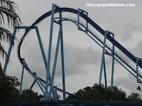 Manta Construction Photos - SeaWorld