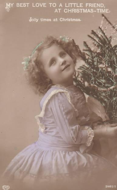 Carte postale ancienne enfant