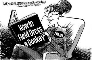 Palin reviews - How to dress a donkey