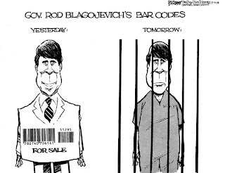 Gov Rod Blagojevich bar codes