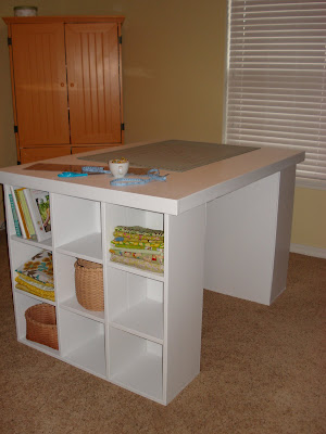 Chestnut Sparrow Cutting Table With Storage You Can