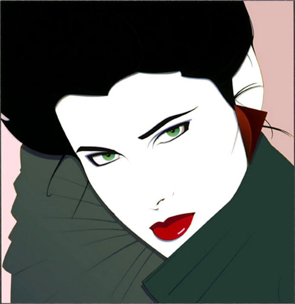 Patrick Nagel 80s Fashion Playboy And