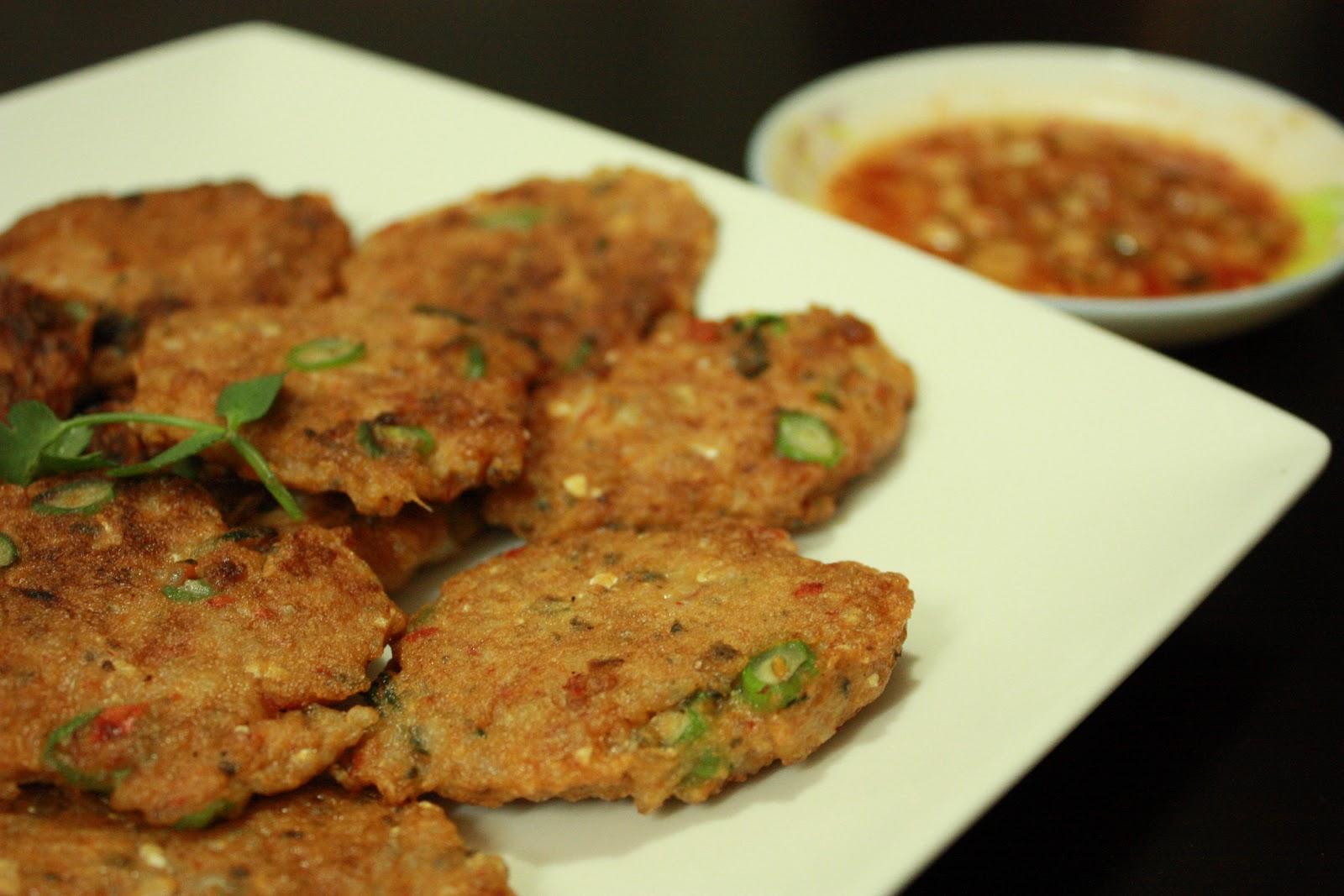 莎拉廚房 Sara's Kitchen: 泰式魚餅