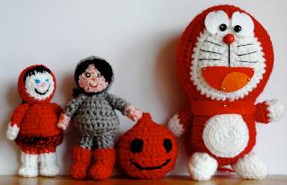 muñecos trapo, crochet, ganchillo