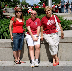 Canada Day with Betty, Margie & Danica