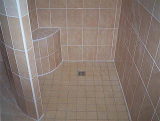 Ecologis id e d co bois salle de bains douches l - Idees salle de bain douche italienne ...