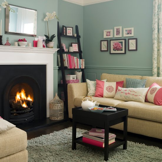 Shades Of Design: Today's Shade: Khaki, Sky Blue, Pink