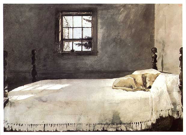 the addison stop andrew wyeth s world 13884 | andrew wyeth master bedroom