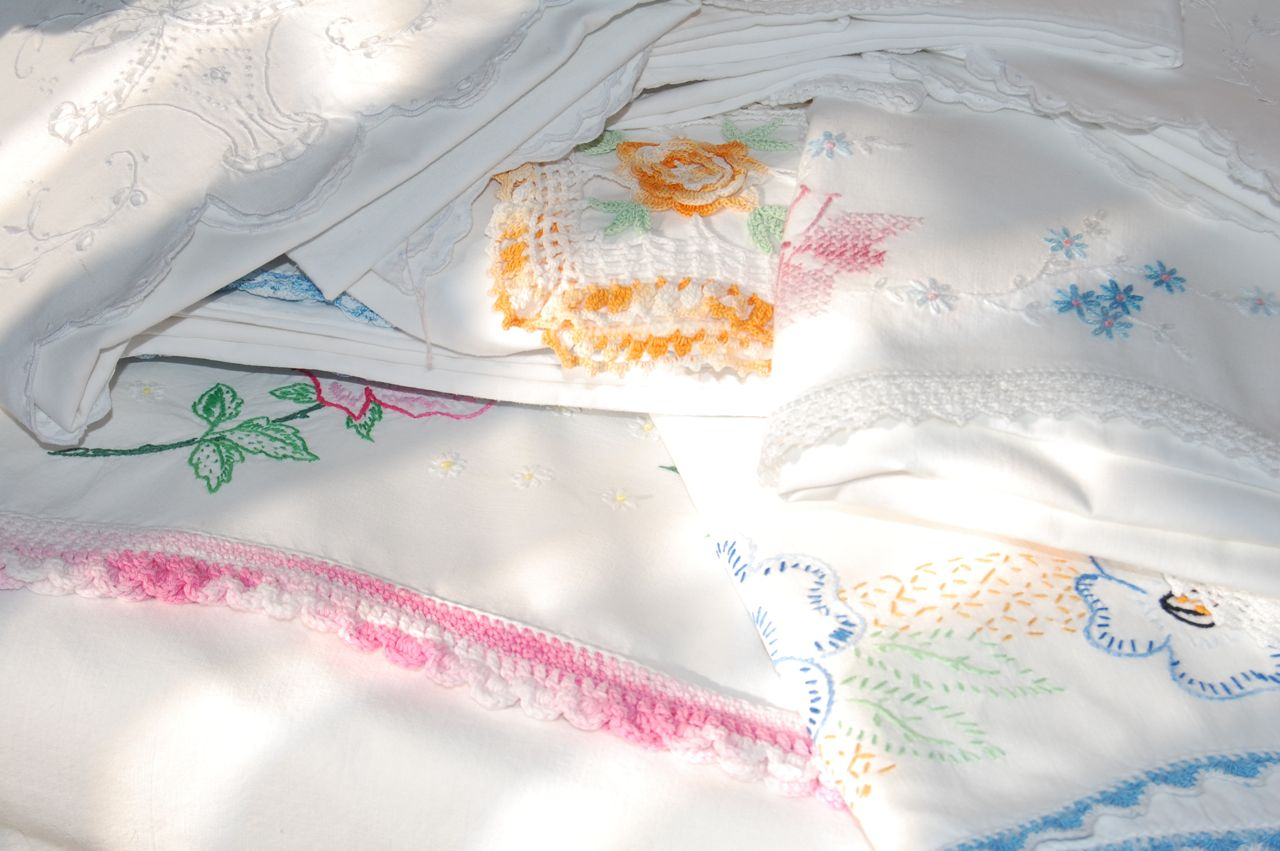 Old Fashioned Pillow Cases