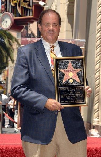 Chris Berman Gets His Hollywood Star