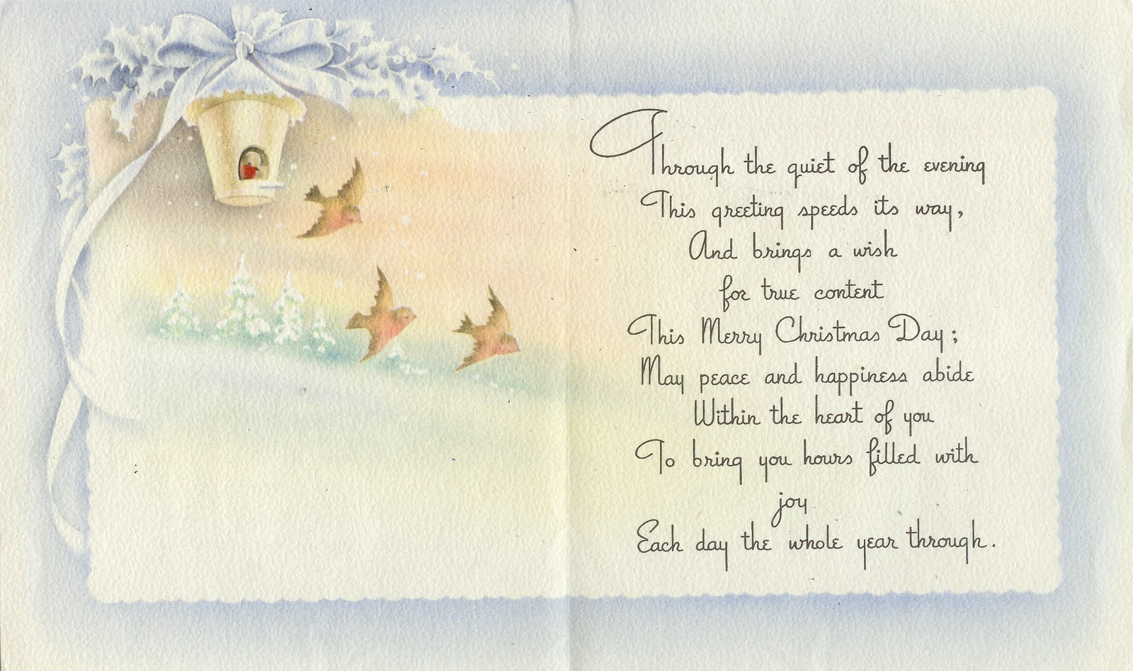 Christmas Card Sayings Quotes Wishes: Four Corners Design: 12.2010