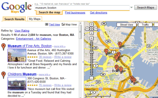 Richer Local Search Results in Google Maps on google link, google help, google docs, google groups, google print, google share, google watch, google computer, google media, google search, google install, google find, google code, google friends, google sync, google zip, google post, google articles, google user,