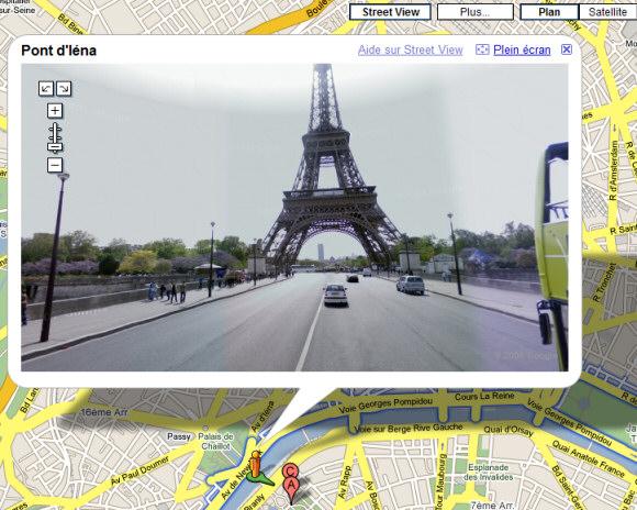google street view in france. Black Bedroom Furniture Sets. Home Design Ideas