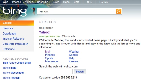 Bing Becomes the Main Alternative to Google Search