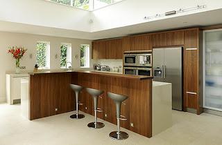 2157359d2235 A partir de la década de 1980, la perfección de la campana extractora  permitio una cocina abierta de nuevo, más o menos integradas con todo el  apartamento o ...