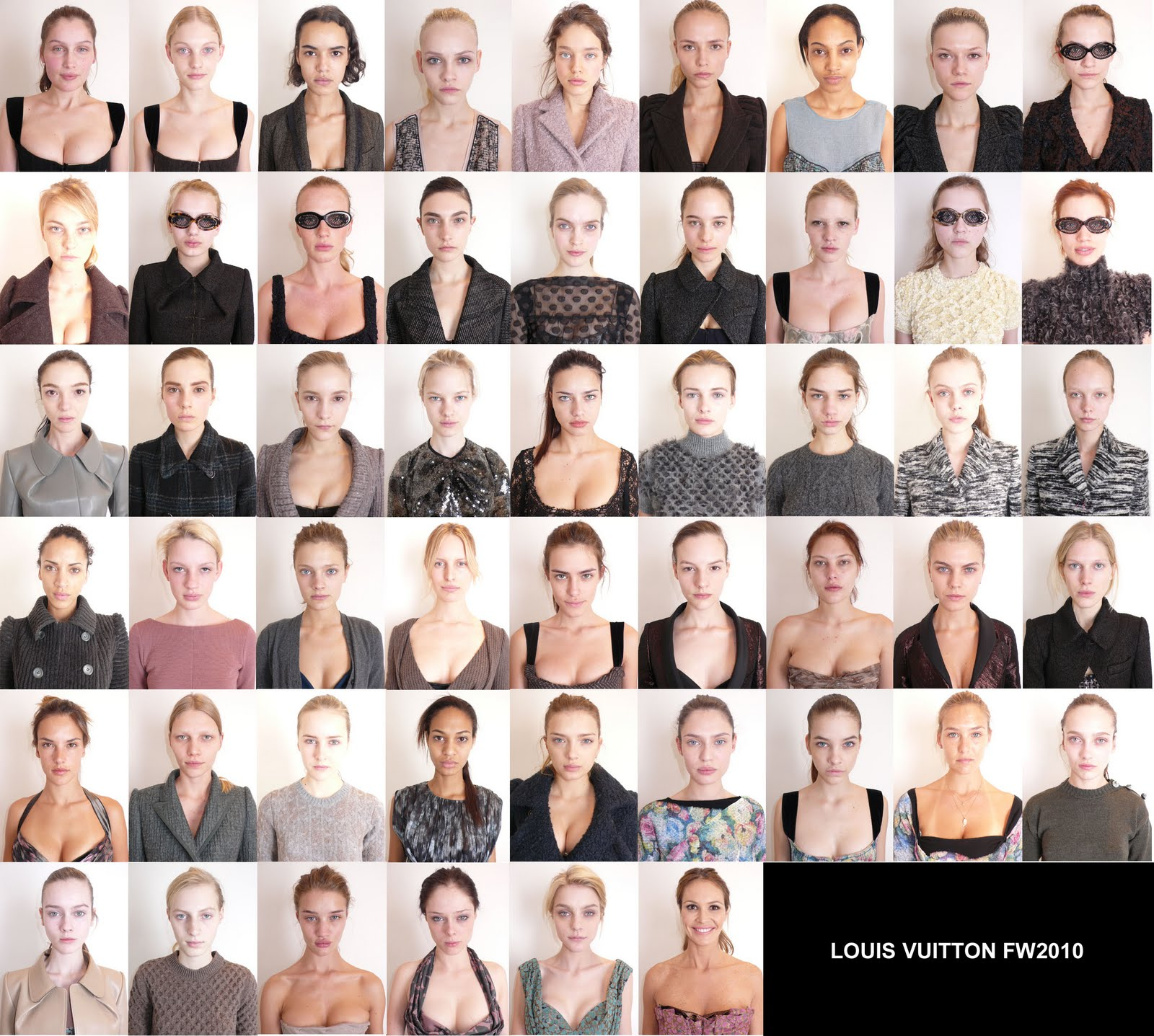 Louis Vuitton Models Without Makeup- What Do You Think? A picture of ...