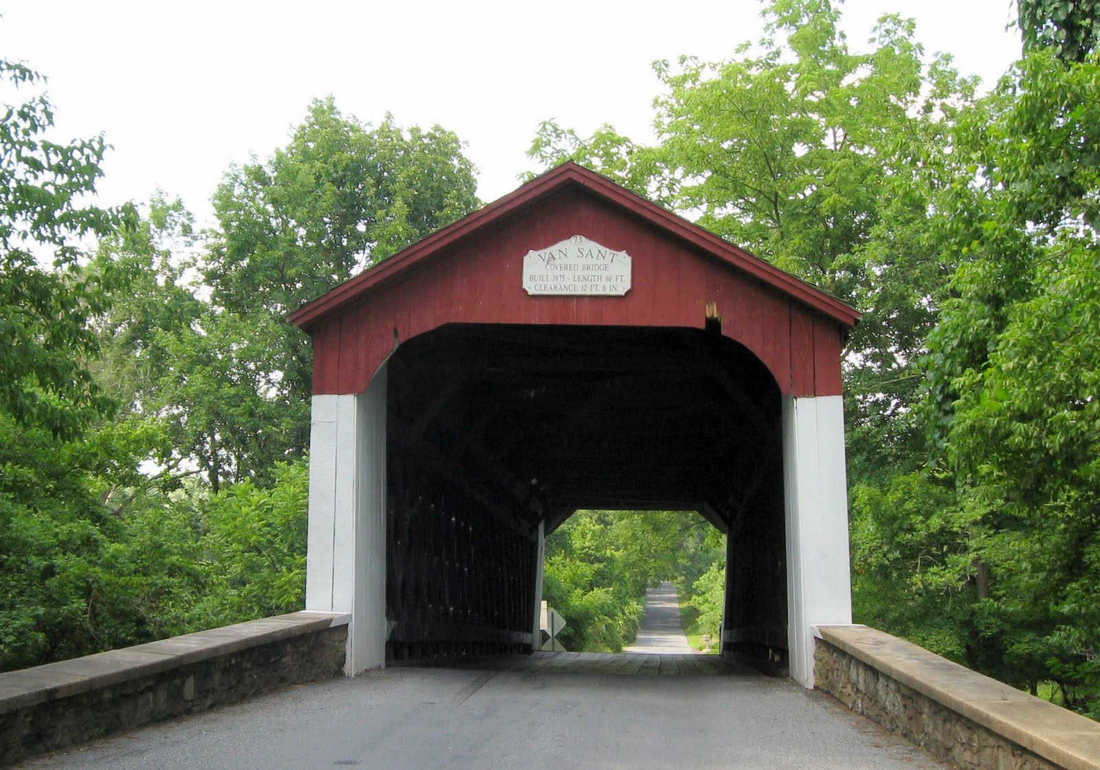 Outta the Way: Haunted VanSant Covered Bridge