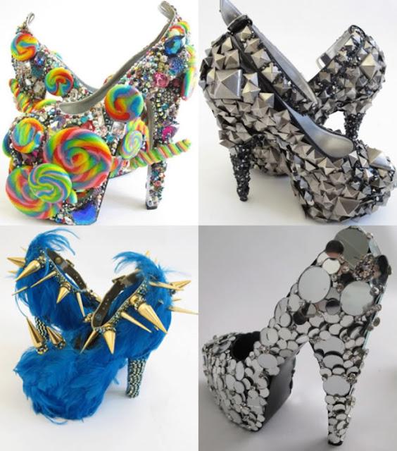 Crazy shoes true piece of art