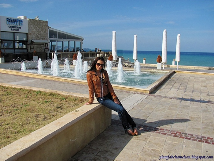 sunny winter day in Crete