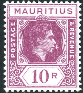 King George Vi Postage Stamps Mauritius 1938 Mar 2nd 48
