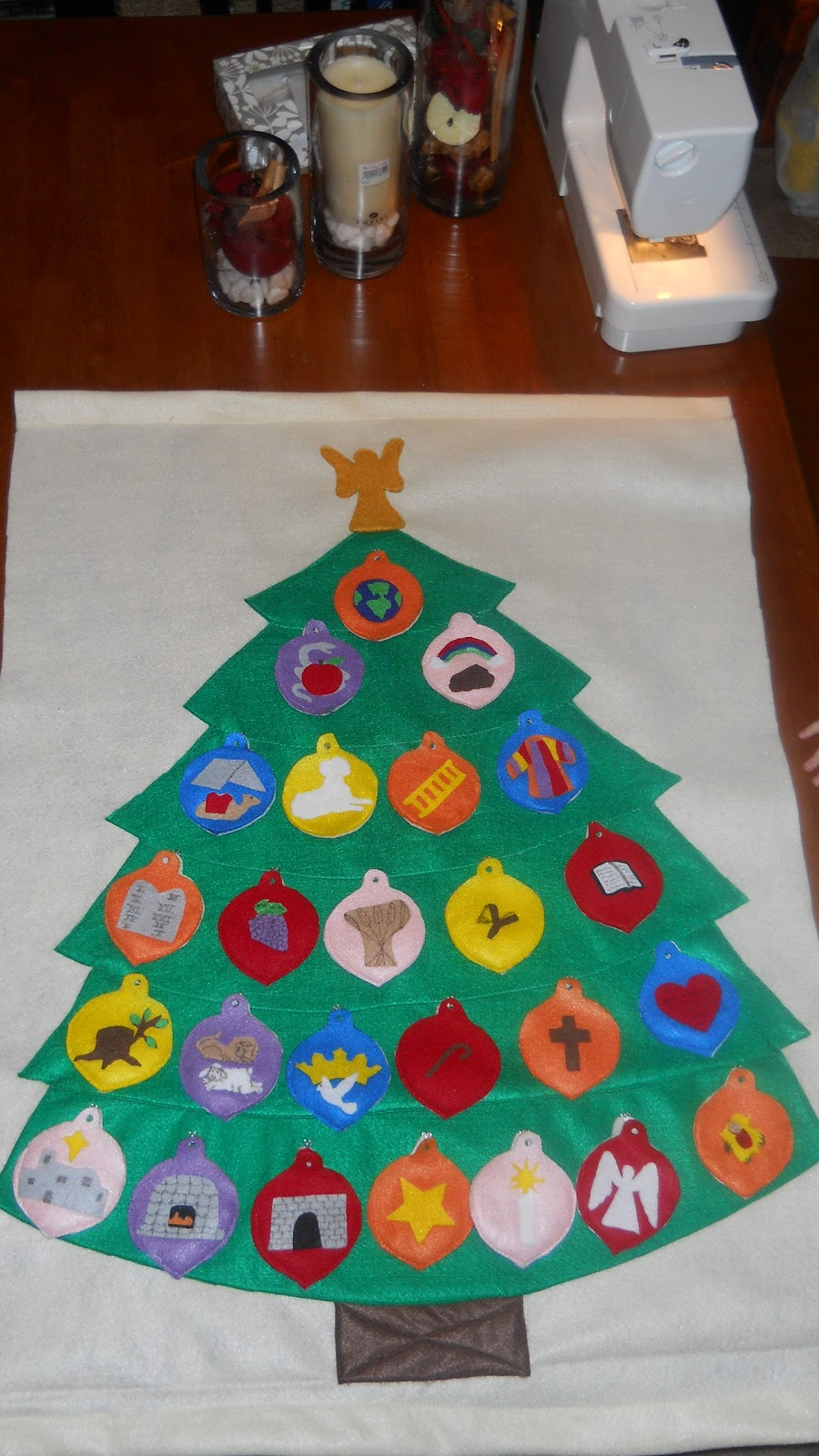 jesse tree ornament templates - extraordinary ordinary life my felt advent jesse tree
