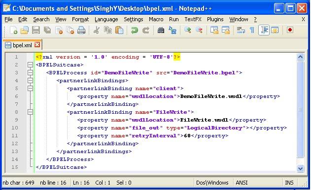 SOA Suite Integration: Part 3: Loading files