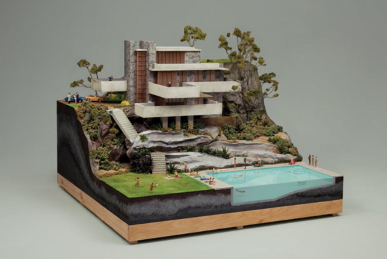 Frank Lloyd Wright Model Kits Dioramas And Clever Things Chillout Sessions Xi And Xii