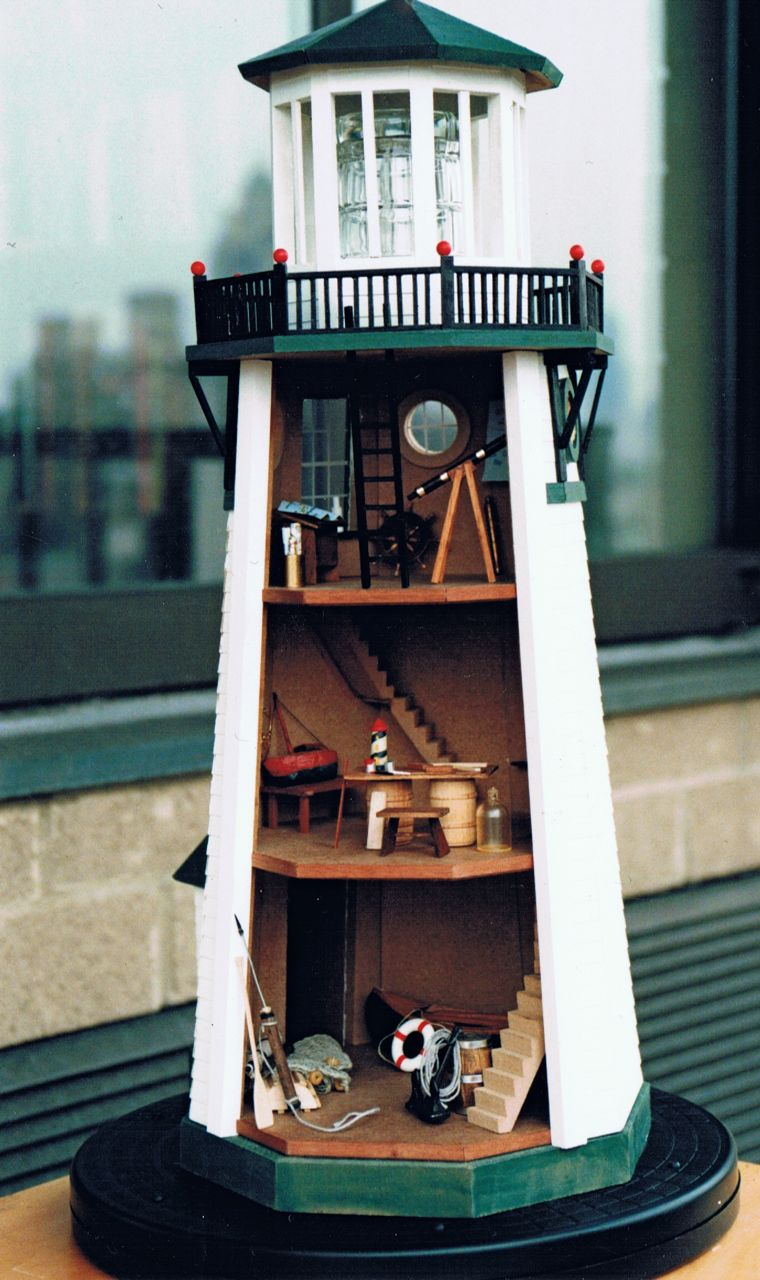 Dioramas And Clever Things Model Lighthouse
