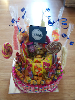 The Blue Square With Sam On Is Actually A Lolly I Covered Theres Couple Cake Other Ones At Back