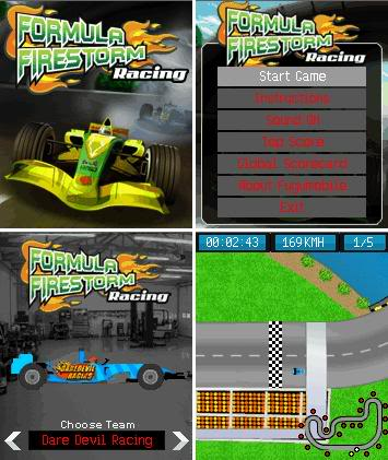 Formula firestorm racing - Java games jar download