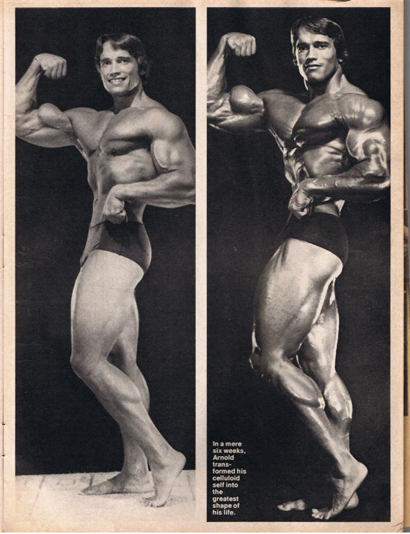 We All Know He Was Shredded In 80, But He Wasnu0027t Nearly As Big. Arnold  Peaked In 74 At Only 27 Which Is A Shame Because He Was So Dominant That We  ...