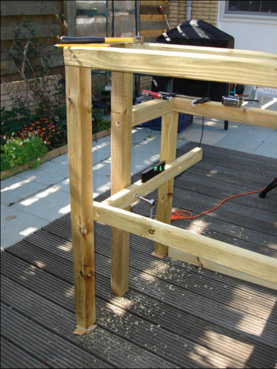 Mikobonsai Articles Building A Bonsai Bench