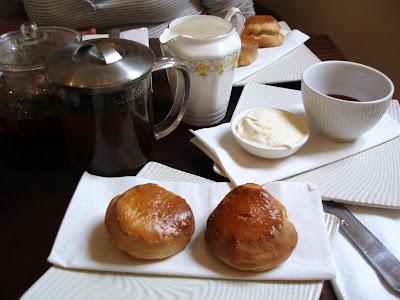 Le Chandelier East Dulwich Scones Tea