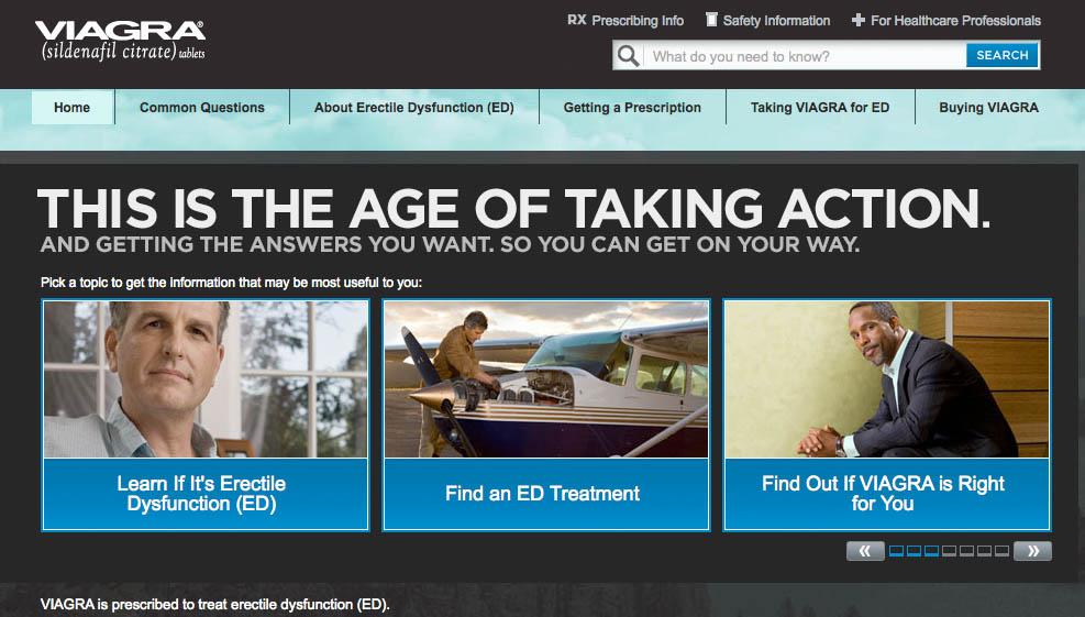 Pharma Marketing Blog: Viagra Website Goes Dark!