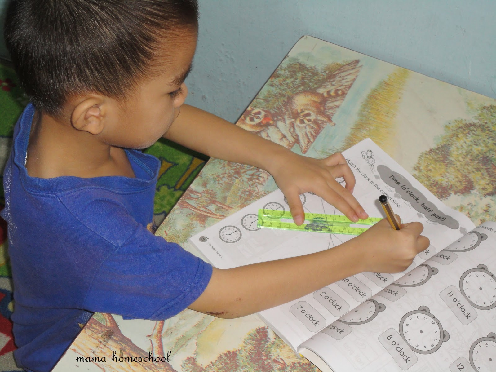 Mama Homeschool Homeschool Angah Time
