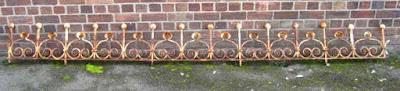 cast iron railing north wales antiques