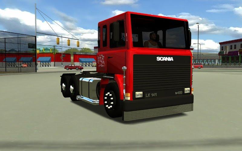 carretas brasileiras para 18 wheels of steel haulin