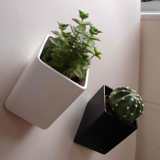Modern Wall Planters: A Few Of My Favorite Things: 51: Home Decor: Cool Planters