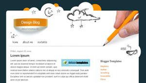 Design Blog - Blogger Template