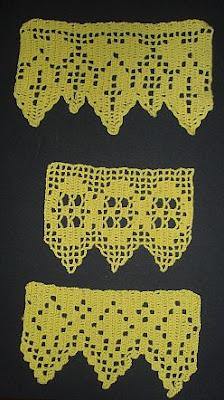 My Handicraft Crochet Samples With Patterns Heegeldatud Pitsiproov