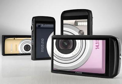 Canon Digital Ixus 210-Top 5 sensor compact camera