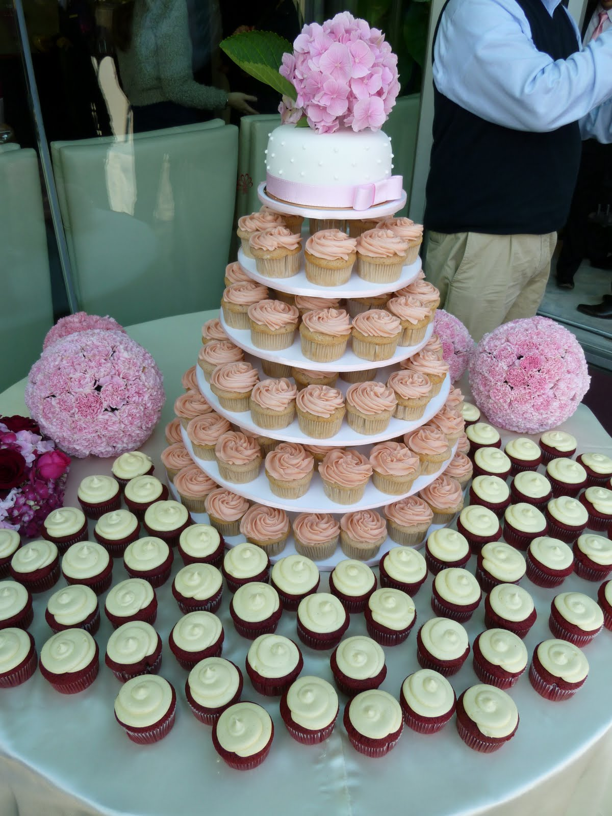 Sift Another Beautiful Wedding Cupcake Tower