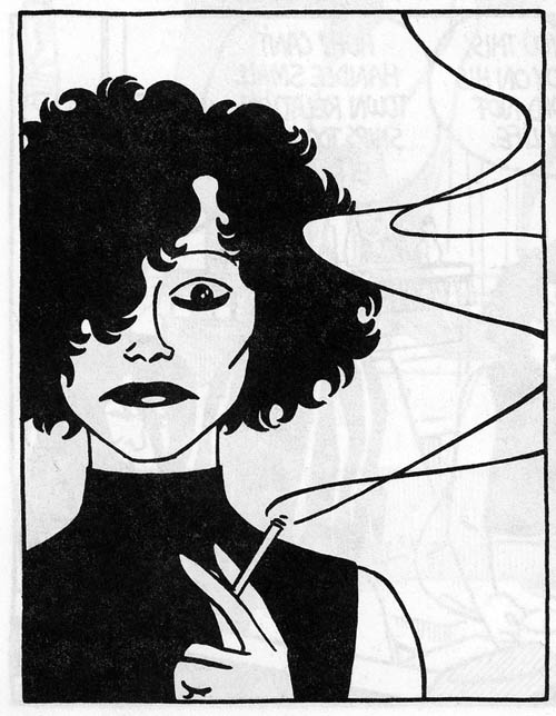 This post goes out to the women of the Love and Rockets comics. Style icons  and bad-asses for all time !